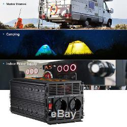 Spannungswandler 12V 230V 2000W 4000W Wechselrichter (Inverter)