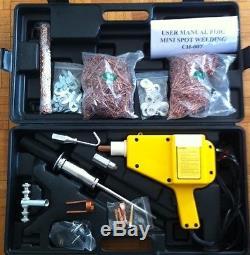 Spot Stud Weld Welder Dent Puller Kit For Car Body Panel 220 V. £219.00 + Vat