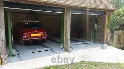 Strongman Bonar 4 Post Ramp Car Lift Parking Repair 240v Home Parking Garage