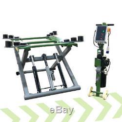Strongman Tamar 2.8 Ton Mid Rise Mobile Home Garage Car Scissor Lift Ramp 240v