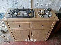 Stunning Campervan Unit Pod Hob Sink And Tap Included! Free Delivery! Hob inc