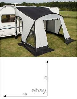 Sunncamp Swift Copia 325 Deluxe Caravan Porch Awning With Rear Upright Pads 2021