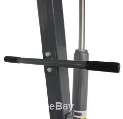 SwitZer Grey 1 Ton Tonne Hydraulic Folding Engine Crane Stand Hoist lift Jack