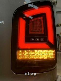 T5.1 Transporter 2010-15 Sequential Indicator LED Rear Lights Black Smoke