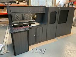 T5 T6 VW transporter LWB kitchen furniture Assembled camper van lightweight Ply