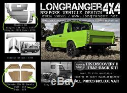 TD5 Discovery 2 fiberglass complete pickup truck kit project LAND ROVER