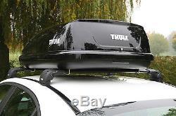 THULE Ocean 80 Car Roof Box Gloss Black Finish 320 Litre Capacity