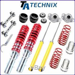 Ta-technix Gewindefahrwerk +koppelstangen +domlager Vw Golf 4 /bora /audi A3