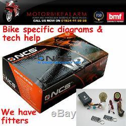 Talking Ncs V2 Motorbike Bike Motorcycle Alarm & Immobiliser With Remote Start