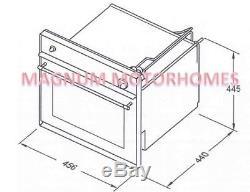 Thetford/Spinflo Duplex Oven & Grill Magnum Black 36 Litre Caravan/Motorhome