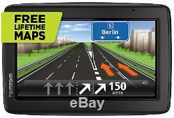 TomTom Start 25 M CE XXL GPS C. Europa Navi 3D Maps FREE Lifetime Maps Tap&Go WOW