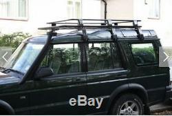 Transit Van Steel ROOF RACK TRAY TOP Black 4X4 CARGO LUGGAGE BASKET carrier NEW