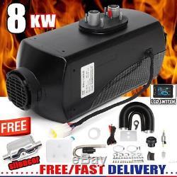 UK 8KW diesel Air Heater Planar 8000W 12V For Motorhome Trucks BoatsSilencer II