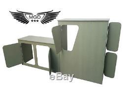 Universal Van Camper Motorhome Kitchen furniture interior budget unit