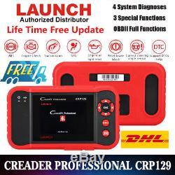 Updated LAUNCH X431 CRP129 OBD2 Diagnostic Scanner as Creader VIII Fault Reader