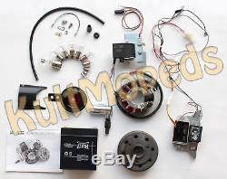 VAPE 3 E-Zündung Gel Akku Motor Lichtmaschine 12V pass f Simson S50 S51 S53 S70