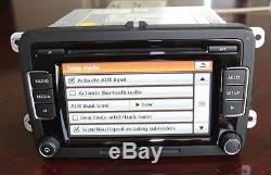 VW Car Stereo Radio RCD510 USB MP3 AUX SD Golf Passat Touran Tiguan SEAT Polo