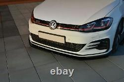 VW Golf 7 GTI GTD Facelift Lippe Diffusor Spoilerlippe Frontansatz Spoiler FD1