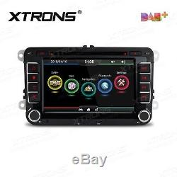 VW Golf MK5 MK6 Passat Touran Tiguan Car GPS Stereo DAB+ Radio SATNAV DVD Player