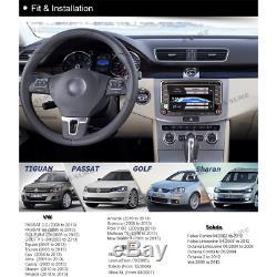 VW Golf Mk5 Mk6 POLO Bluetooth Radio USB Sat-Nav GPS DVD Player Stereo Head Unit