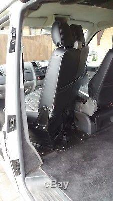 VW T5 T6 Transporter Camper Van Double Seat Swivel Base (RHD UK Model)
