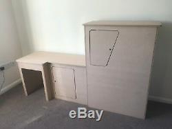 VW T5 Transporter campervan Camper SWB Fridge Unit kitchen Wardrobe pod B1