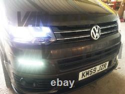 VW Transporter T5 T5.1 Drl Light Bar LED Headlights 2010 2015