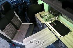 VW Transporter T5 T6 double sliding swivel base. M1 in vehicle body tested
