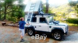 Ventura Deluxe 1.4 Roof Tent 3 Person Camping Overland Land Rover 4x4 Van Car T5