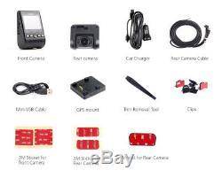 Viofo A129 Dual Lens Dash Camera Twin SONY Star Sensr 5GHz WIFI GPS 32GB Samsung
