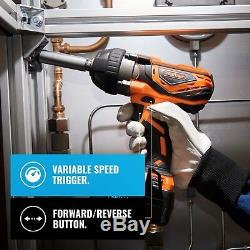 VonHaus Cordless Impact Wrench + 3.0Ah Li-ion 20V MAX Battery & Charger, 240Nm
