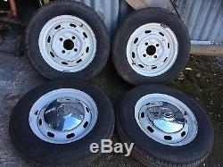 Vw Beetle Wheels X 4 Very Nice Wheels