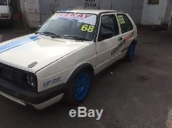 Vw Mk2 Golf Gti Race /track Day Car