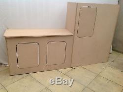 Vw T5 T4 Transporter Kitchen Unit Cupboards Camper Van