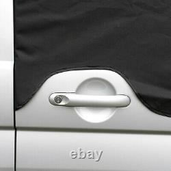 Vw T5 Transporter Deluxe Windscreen Screen Curtain Wrap Cover 190 Black