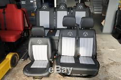 Vw Transporter T4 T5 T6 seats and Full width Rock n Roll bed from leatherette