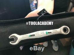Wera Tools 11pce Joker Spanner Wrench Set 8mm-19mm Open End Ring Ratchet Metric