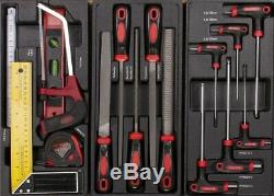 Werkzeugwagen mit 7 Schubladen. 5 mit Werkzeug CRV Werkstattwagen gefüllt