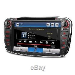 XTRONS 7 Ford Mondeo Focus S-max Galaxy Car DVD Player Radio GPS Stereo Black