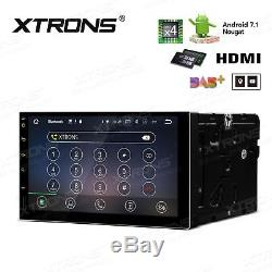 XTRONS Android 7.1 Double DIN 7 Car Stereo GPS Sat Nav DAB+ OBD2 WiFi 4G Radio