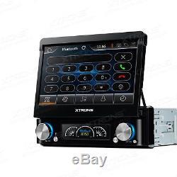 XTRONS Single 1 DIN 7 Car DVD Player Stereo GPS Sat Nav DAB+ Digital Radio RDS