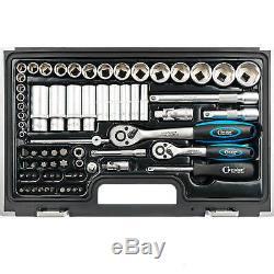Zoll Werkzeug Satz Harley Steckschlüssel Nüsse Größen Nuss Set Ratschenkasten