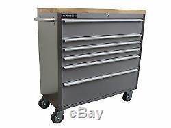127 Nous Outils Pro Roller Cabinet Coffre À Outils Boîte En Acier Inoxydable 42 Acheter Finance