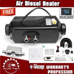 12v 2000w Appareil De Chauffage Diesel D'air De Moniteur D'affichage À Cristaux Liquides Planar 2kw Pour La Voiture Camions