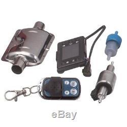 12v 2kw-5kw Diesel Air Heater LCD À Distance Pour Les Camions Bateaux Motorhomem Vent