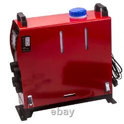 12v 2kw-5kw Diesel Air Heater Télécommande Pour Camion Bateau Suv Motorhome Van