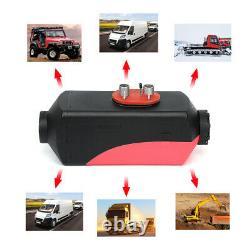 12v 5kw Diesel Aérotherme Nuit LCD À Distance Pour Motorhome Camions Bateaux Silencer