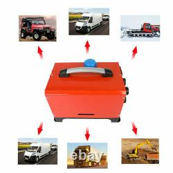 12v 5kw Diesel Air Night Heater 4 Trous LCD Monitor Remote Trucks Boats Car Home