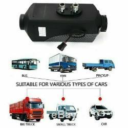 12v 8000w LCD Air Diesel Chauffe-plane 8kw Pour Camion De Voiture Campingcars Vent