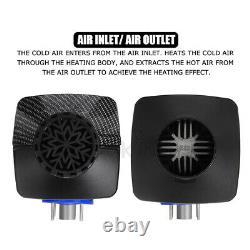 12v Air Diesel Night Heater 5kw Moniteur LCD À Distance Pour Voiture Camion Moteur Maison